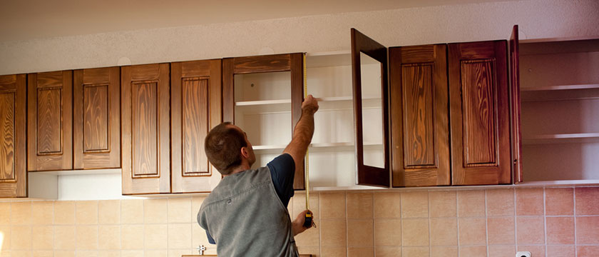 cabinet installation and kitchen remodeling